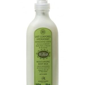 latte corpo biologico mandarino verde 230ml marius fabre tec-terreecolori calestano-parma