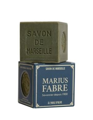 sapone di marsiglia con olio d'oliva cubo 400gr marius fabre tec-terreecolori calestano-parma