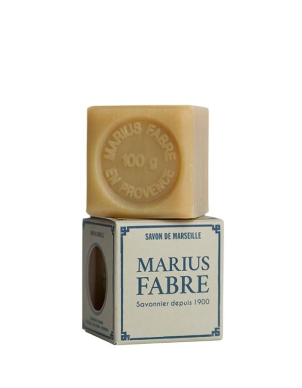sapone di marsiglia bianco per biancheria 100gr marius fabre tec-terreecolori calestano-parma