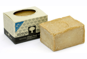 biocom-sapone-aleppo-5%-alloro-200gr-tec-terreecolori-calestano parma