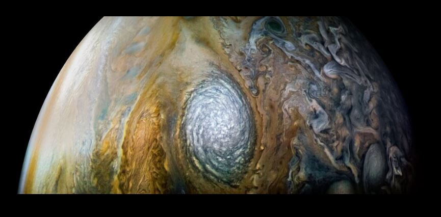 New dazzling images of Jupiter and great red spot released by NASA' $1billion Juno probe