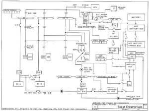 B727 electrical power distribution