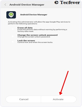 Steps To Ring Android Phone Lost In Silent Mode-Tecfever 2