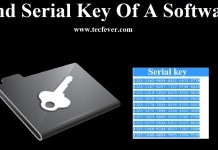 3 Tricks To Find the Serial Key Of Any Software