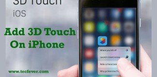 Add 3D Touch On Any iPhone