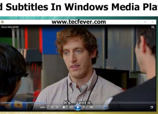 Add Subtitles In Windows Media Player