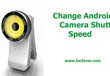 Change Android Camera Shutter Speed