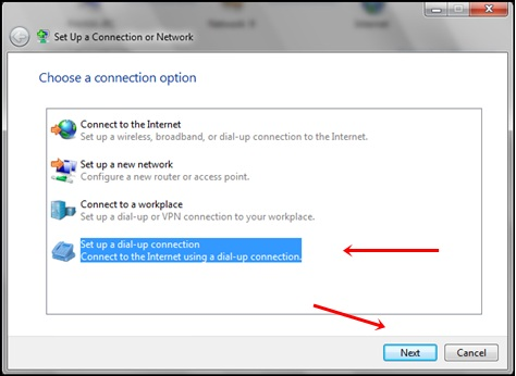 Easy Steps To Create Dial-Up Connection In PC2