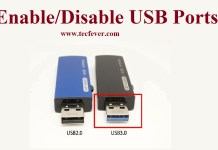 How To Enable or Disable USB Ports