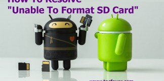 "How To Resolve ""Unable To Format SD Card"""