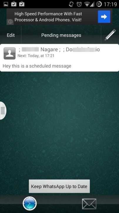 Schedule WhatsApp Messages On Android4
