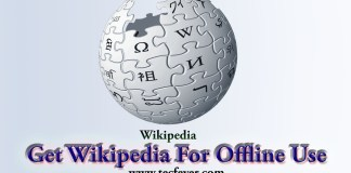 Get Wikipedia For Offline Use