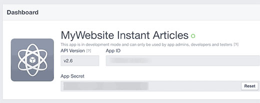 How To Create Facebook Instant Articles For WordPress16