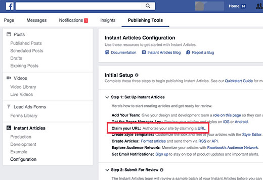 How To Create Facebook Instant Articles For WordPress4