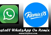 Install WhatsApp in Remix