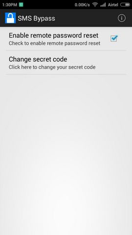 Unlock Your Android Lock Screen Using SMS4