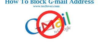 block a gmail address