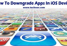 Downgrade Apps On iOS Devices