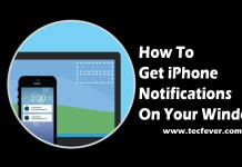 Get iPhone Notifications On Your Windows