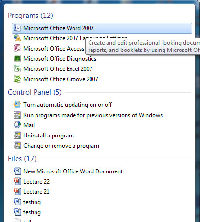 Password Protect MS Office Files1