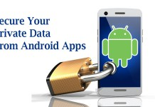 Secure Private Data From Android Apps