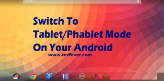 Tablet Mode On Your Android Using xposed installer
