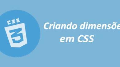 Photo of Dimensões CSS