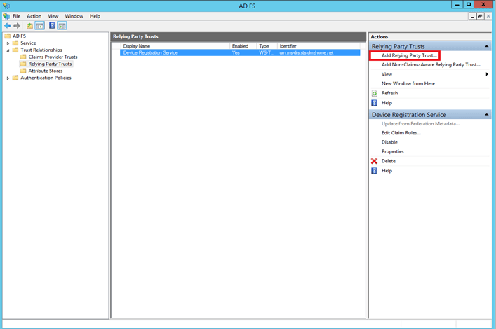 Windows Azure Pack - Authenticate tenants with AD FS