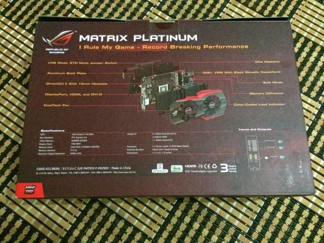 Unboxing & Review: ASUS Radeon R9 290X Matrix Platinum 51
