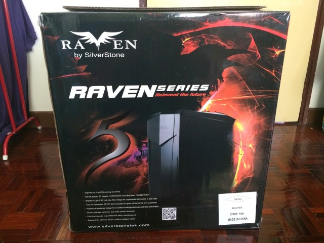 Unboxing & Review: SilverStone Raven 05 89