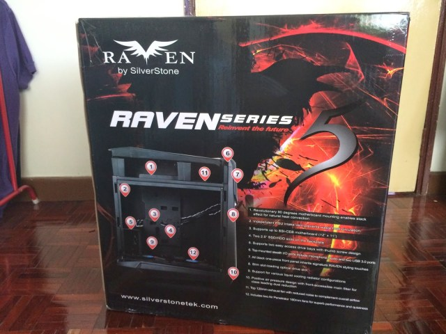 Unboxing & Review: SilverStone Raven 05 90