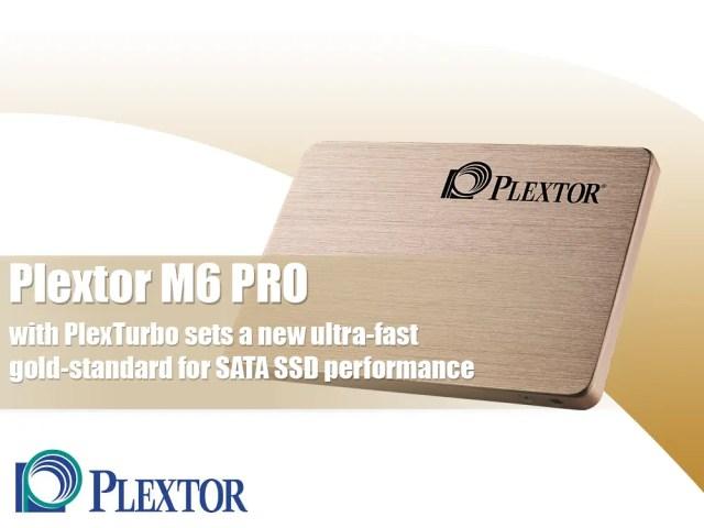 Plextor M6 PRO with PlexTurbo sets a new ultra-fast gold-standard for SATA SSD performance 3