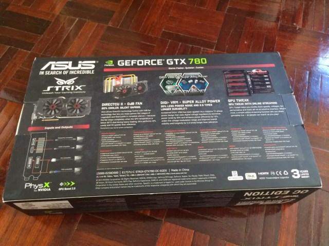 Unboxing & Review: ASUS STRIX GTX 780 OC Edition 5