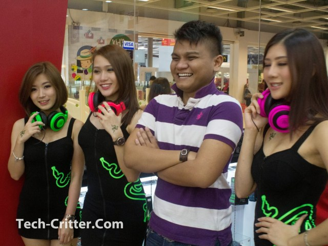 Coverage of the Launching of the Razer Blade @ Ikano Power Centre 156