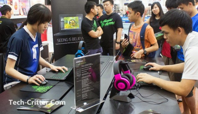 Coverage of the Launching of the Razer Blade @ Ikano Power Centre 148