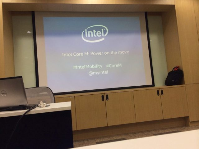 Event Coverage: Intel launches the new Core M processor for 2 in 1 devices 1