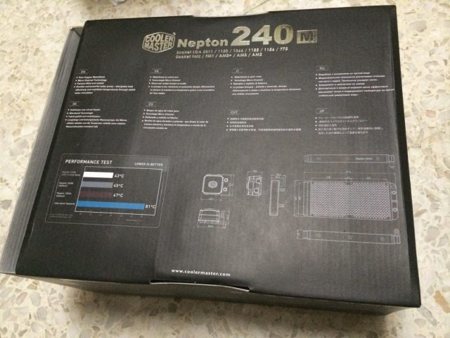 Unboxing & Review: Cooler Master Nepton 240M 45
