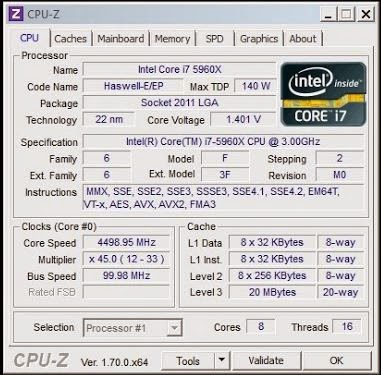 Quick Overview on the Intel Haswell-E i7 5960X 23