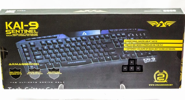 Unboxing & Review: Armaggeddon Kai-9 Sentinel Gaming Keyboard 3
