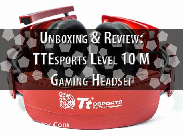 Unboxing & Review: TTEsports LVL10M Gaming Headset 49