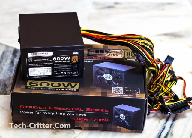 Unboxing & Overview: Silverstone Strider Essential 600W 33