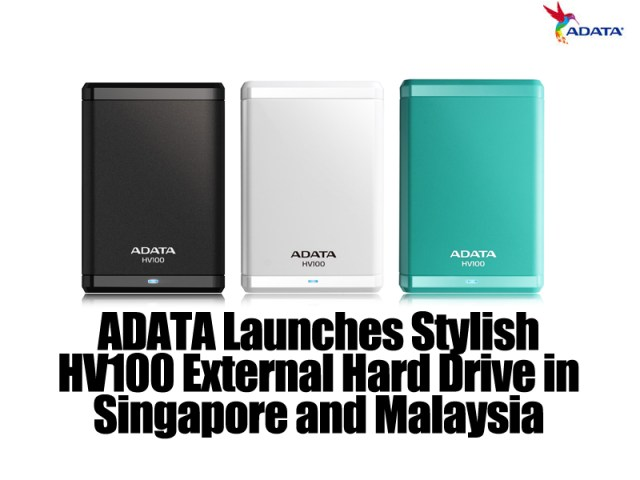 ADATA Launches Stylish HV100 External Hard Drive in Singapore and Malaysia 3