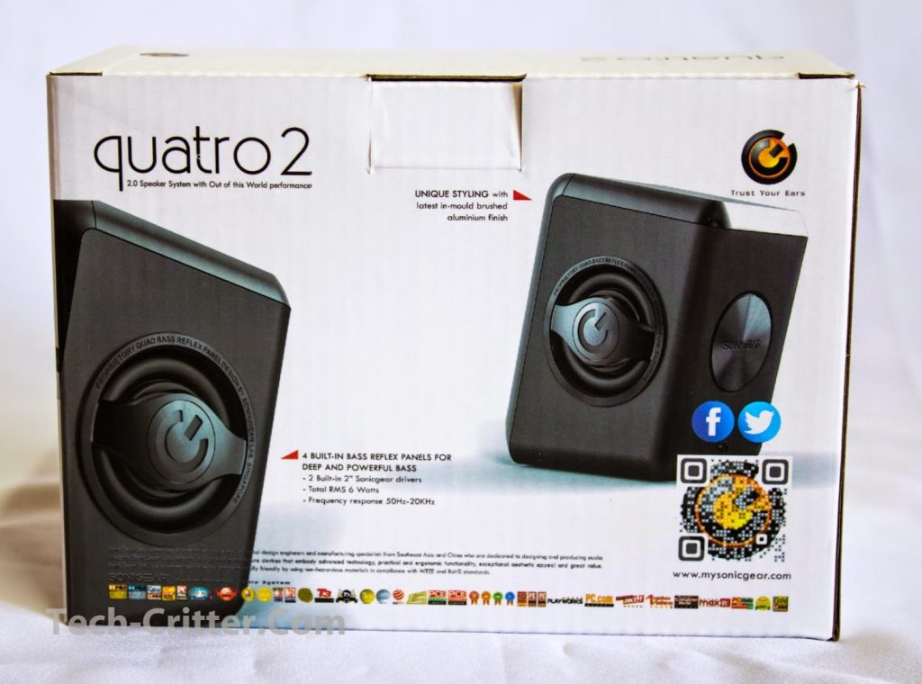 Unboxing & Review: SonicGear Quatro 2 2.0 Speaker System 2