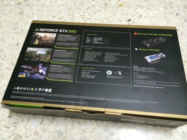 Unboxing & Review: Leadtek WinFast GTX 980 Hurricane 27