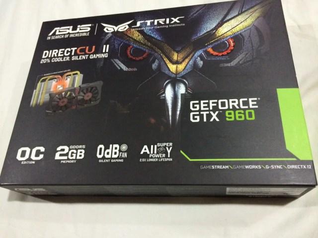 Unboxing & Review: ASUS Strix GTX960 2