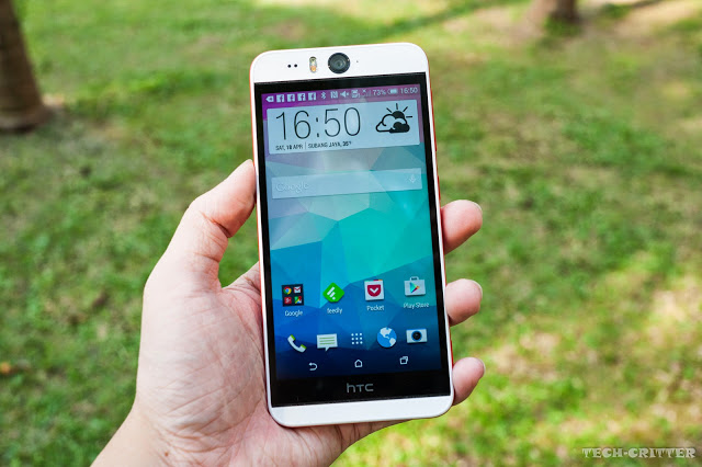 Unboxing & Review: HTC Desire Eye 30
