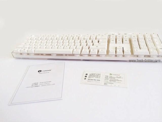 Unboxing & Review: i-Rocks IK6 Crystal USB Keyboard 44