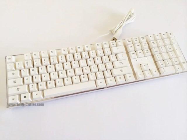 Unboxing & Review: i-Rocks IK6 Crystal USB Keyboard 45