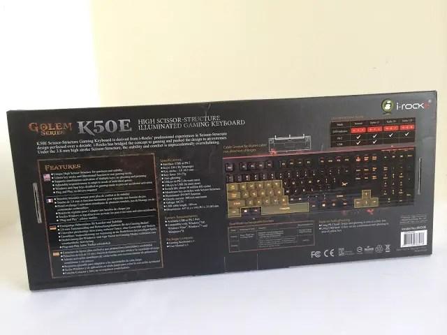 Unboxing & Review: i-Rocks Golem Series K50E Illuminated Gaming Keyboard 46