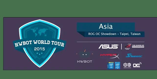 ASUS ROG Hosts Extreme-Overclocking Gathering at Computex 2